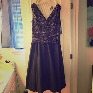 Dress, Party Sz 18W, Black New